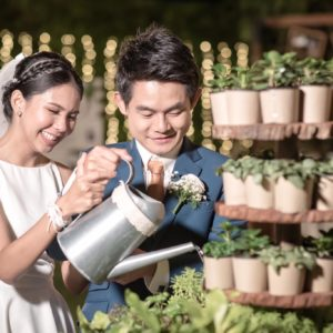 งานแต่ง outdoor wedding bangkok
