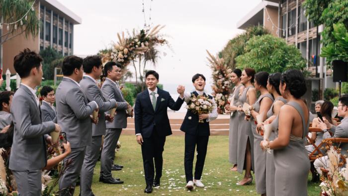 งานแต่งชายรักชาย gay wedding bangkok thailand oumtahheismine renaissance pattaya เวดดิ้งแพลนเนอร์ กรุงเทพ