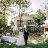 สถานที่จัดงานแต่งงานมินิมอล งานแต่ง มินิมอล กรุงเทพ งานแต่งเล็ก ๆ งานแต่งในสวน เวดดิ้งแพลนเนอร์ กรุงเทพ amco house
